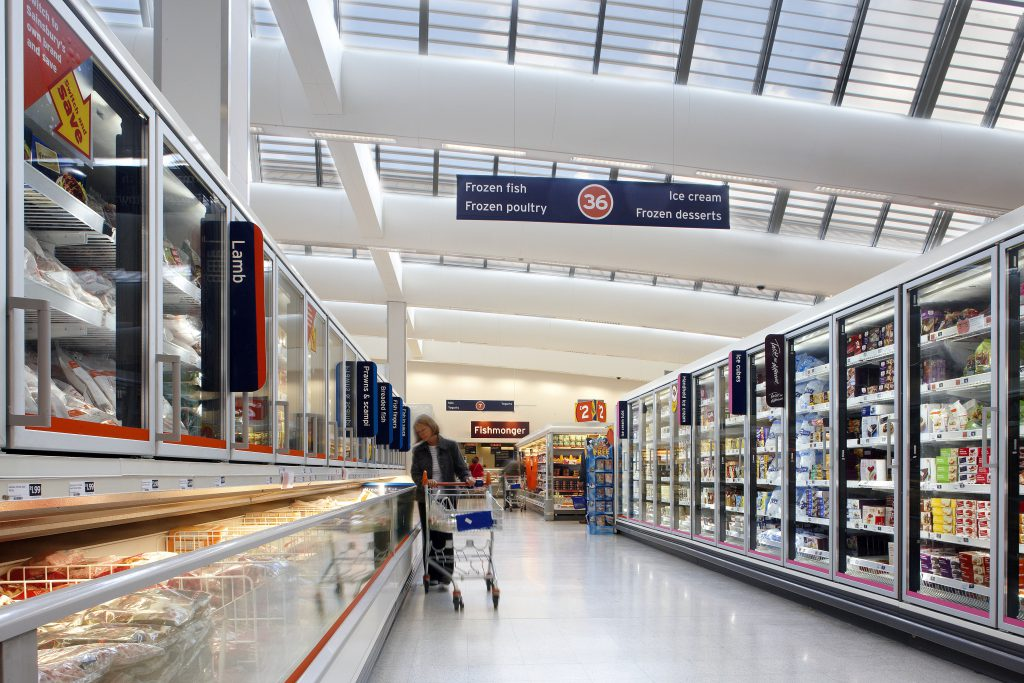 Refrigerated display cabinets are responsible for 50% - 60% of the supermarket energy use