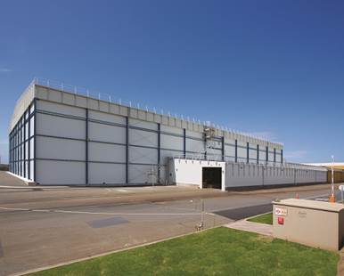 Buildings with sandwich panel construction. A market for ActiveWall